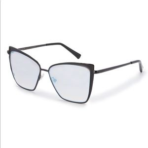 DIFF Becky Mirrored Sunglasses